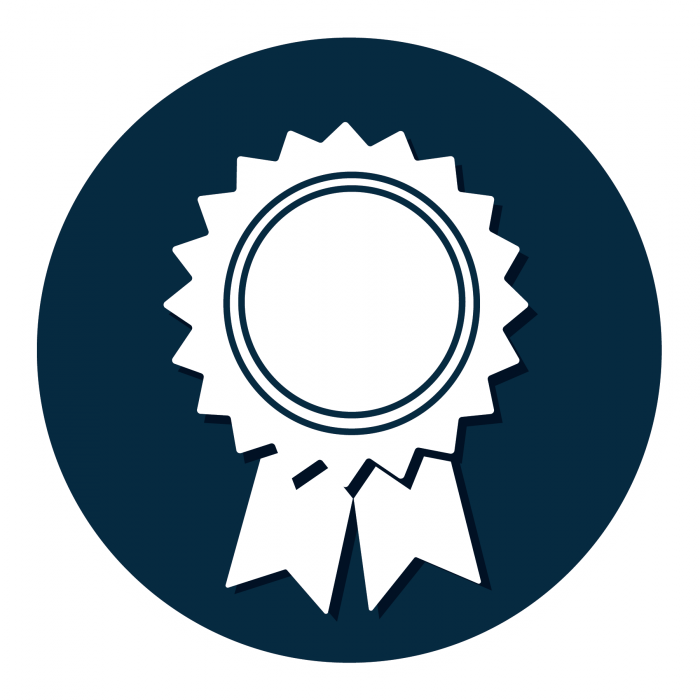 leadership certificate icon